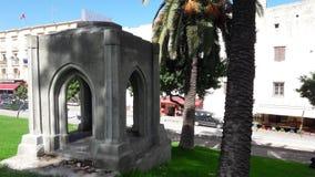Tomb, grave , shrine. In tangier city Stock Image