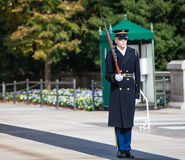 Tomb Guard Arlington National Cemetery Stock Images