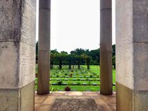 Tomb for the heroes of World War 2 stock images