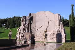Tomb of Heydar Aliyev Stock Photos