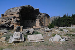 Tomb of Hierapolis Royalty Free Stock Photo