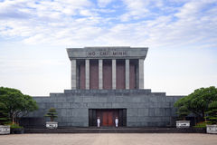Tomb of Ho Chi Minh in Vietnam Stock Photography