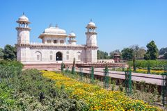 Tomb of I`timad-ud-Daulah, Baby Taj in agra, india stock images
