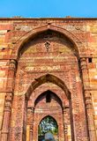 Tomb of Iltutmish at Qutb Complex in Delhi, India. Tomb of Iltutmish at Qutb Complex in Delhi. A world heritage site in India Royalty Free Stock Photos