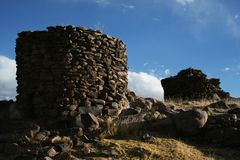 Tomb of incas Stock Image