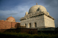 Tomb of Indian Sultan, Mandu. This is the Tomb of Hoshang Shah, the Pathan Ruler of Sultanat of Mandu, India. I was built 400 years ago royalty free stock photography