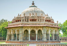 Tomb of Isa Khan at new Delhi Royalty Free Stock Photo