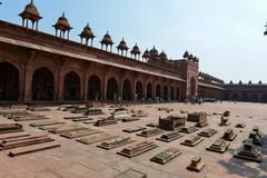Tomb of Islam Khan in Fatehpur Sikri Complex Royalty Free Stock Photography
