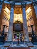 Tomb of the Italian king Victor Emanuel II at the Pantheon, Rome Stock Photography