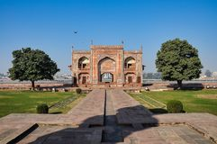 Tomb of Itimad ud Daul, little Taj Mahal, Agra, India stock images