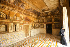 Tomb of Itimad-ud-Daulah in Agra, Uttar Pradesh, India Royalty Free Stock Image