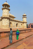 Tomb of Itimad-ud-Daulah in Agra, Uttar Pradesh, India Royalty Free Stock Images