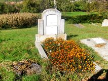 Tomb in Jibert, village near Rupea(Reps), Brasov County. Royalty Free Stock Photos