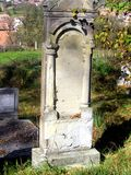 Tomb in Jibert, village near Rupea(Reps), Brasov County. Royalty Free Stock Photography