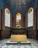 Tomb of Karin Mansdotter, a Queen of Sweden, in Turku Cathedral, Finland. Turku, Finland. Kankas Chapel of Turku Cathedral with tomb and burial monument of Karin Royalty Free Stock Photos