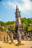 Tomb of Khai Dinh emperor in Hue, Vietnam Stock Images
