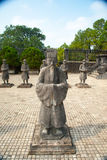 Tomb of Khai Dinh emperor in Hue, Vietnam Stock Photos