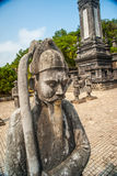 Tomb of Khai Dinh emperor in Hue, Vietnam Stock Image