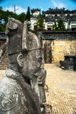 Tomb of Khai Dinh emperor in Hue, Vietnam Stock Photography