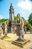 Tomb of Khai Dinh emperor in Hue, Vietnam Royalty Free Stock Image