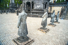 Tomb of Khai Dinh emperor in Hue, Vietnam Royalty Free Stock Photography