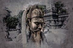 Tomb of Khai Dinh emperor in Hue, Vietnam. Stock Photos