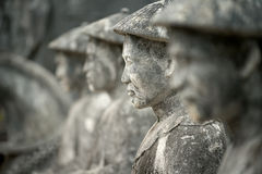 Tomb of Khai Dinh Guardians, Hue, Vietnam, Hue, Vietnam Royalty Free Stock Images