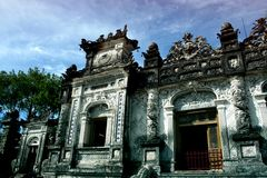 Tomb of Khai Dinh, Hue City Royalty Free Stock Photography