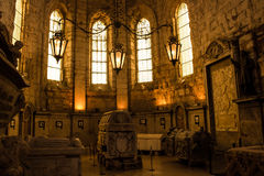 Tomb of King D. Fernando, Lisbon, Portugal Stock Photos