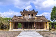 Tomb of King Thieu Tri in Hue. One of the buildings within the Tomb of King Thieu Tri near Hue, Vietnam Stock Photography