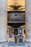Tomb of King Victor Emmanuel II, Pantheon, Rome, Italy Stock Image