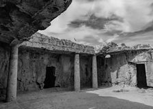 Tomb of Kings. The Tomb of Kings, Paphos Royalty Free Stock Image