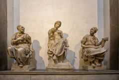 Tomb of Lorenzo the Magnificent and his brother Giuliano and Mic Stock Photography