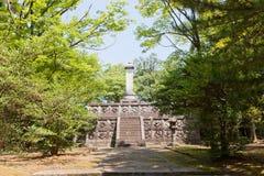 Tomb of Maeda Toshinaga in Takaoka, Japan Stock Images
