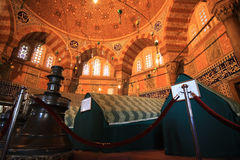 Tomb of Magnificient Suleiman. In Istanbul,Turkey Royalty Free Stock Image