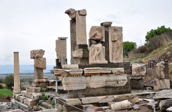 Tomb of Memmius at Ephesus Royalty Free Stock Photos