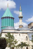 Tomb of Mevlana, the founder of Mevlevi sufi dervi Stock Photography