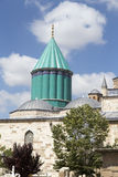 Tomb of Mevlana, the founder of Mevlevi sufi dervi Stock Image