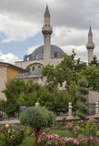 TOmb of Mevlana, the founder of Mevlevi sufi dervish order, with Stock Image