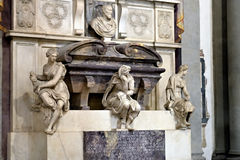 Tomb of Michelangelo Buonarroti Royalty Free Stock Photos