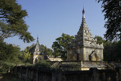 Tomb of Mindon Min King in Mandalay, Myanmar (Burma) Royalty Free Stock Photography