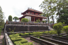 Tomb of Minh Mang King in Hue, Vietnam Stock Images