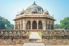 Tomb and mosque of Isa Khan Stock Photography