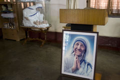 The tomb of mother teresa Royalty Free Stock Photography