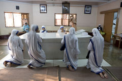 The tomb of mother teresa Stock Images