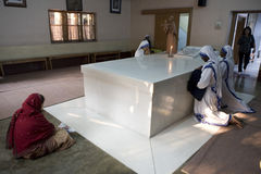 The tomb of mother teresa Stock Image