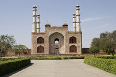 Tomb of a Mughal Emperor Royalty Free Stock Images
