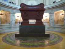 Tomb of Napoleon Stock Photography