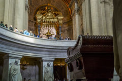 Tomb of Napoleon Bonaparte Stock Images