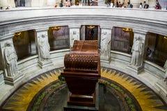 Tomb of Napoleon Bonaparte Stock Photo
